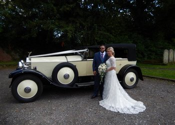 Wedding Car Hire -1927 Phantom 1 Rolls Royce